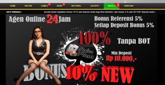 Bonus 20rb Bermain Poker Online Langsung Setelah Daftar