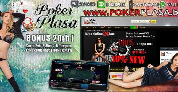 Situs Terbesar Judi Online Poker Bonus 20Rb Langsung
