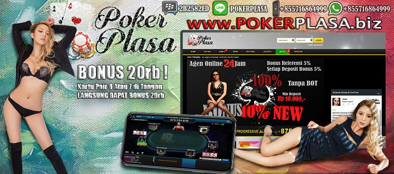 Situs Terbesar Judi Online Poker Bonus 20Rb Lambat